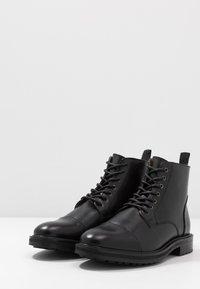 Topman - ORBIS HERITAGE BOOT - Botines con cordones - black - 2