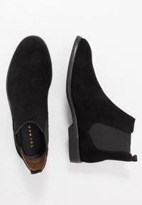 Topman - SPARK CHELSEA - Classic ankle boots - black - 1