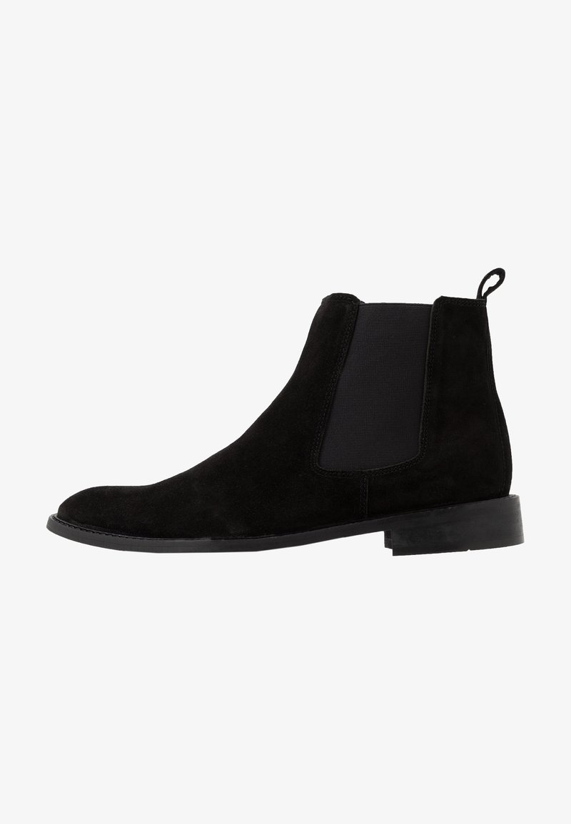 Topman - MORLEY CHELSEA - Classic ankle boots - black