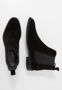 Topman - MORLEY CHELSEA - Classic ankle boots - black - 1
