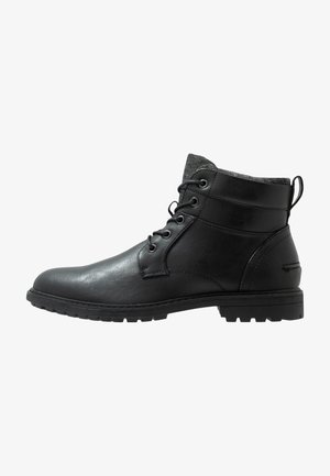 PICKFORD - Bottines à lacets - black