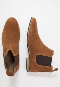 Topman - SUMMER CHELSEA - Classic ankle boots - tan - 1