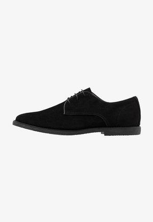SPARK - Elegantní šněrovací boty - black