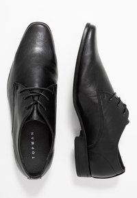 Topman - BROCK DERBY - Stringate eleganti - black - 1