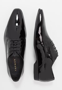 Topman - BRIAR DERBY - Veterschoenen - black - 1