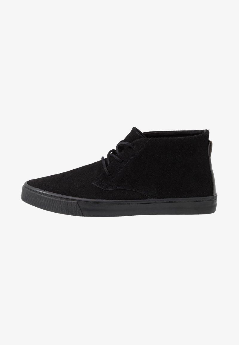 Topman - ROYCE CHUKKA - Casual lace-ups - black