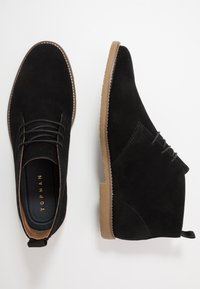Topman - NEW SPARK  - Casual lace-ups - black - 1