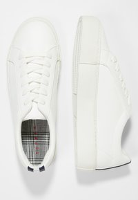 Topman - STEEP LACE - Sneakers basse - white - 1