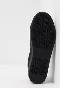 Topman - STEEP LACE - Sneakers basse - black - 4