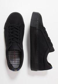 Topman - STEEP LACE - Sneakers basse - black - 1