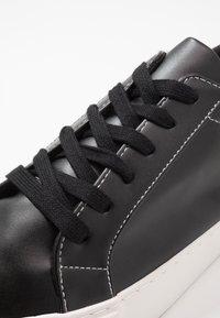 Topman - STEEP - Trainers - black/white - 5