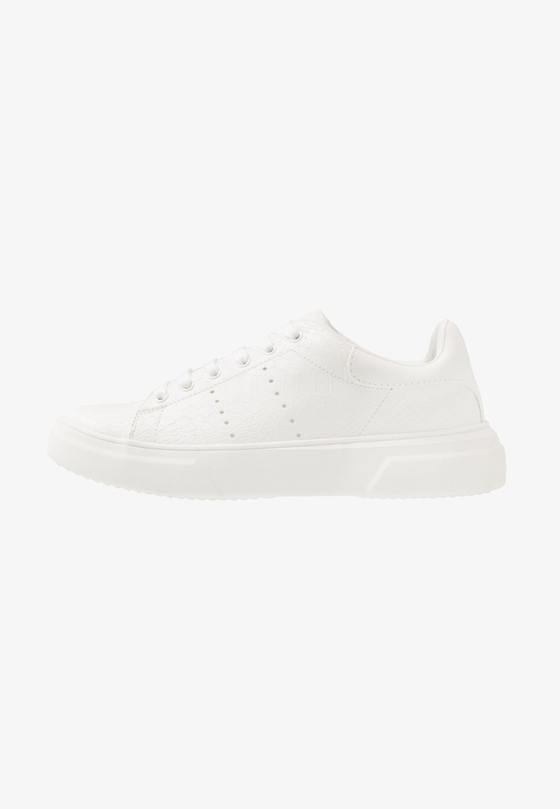 Topman - DRONE EMBOSS - Trainers - white