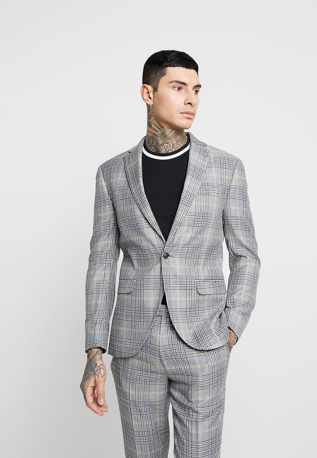 JACK CHECK - Kavaj - grey