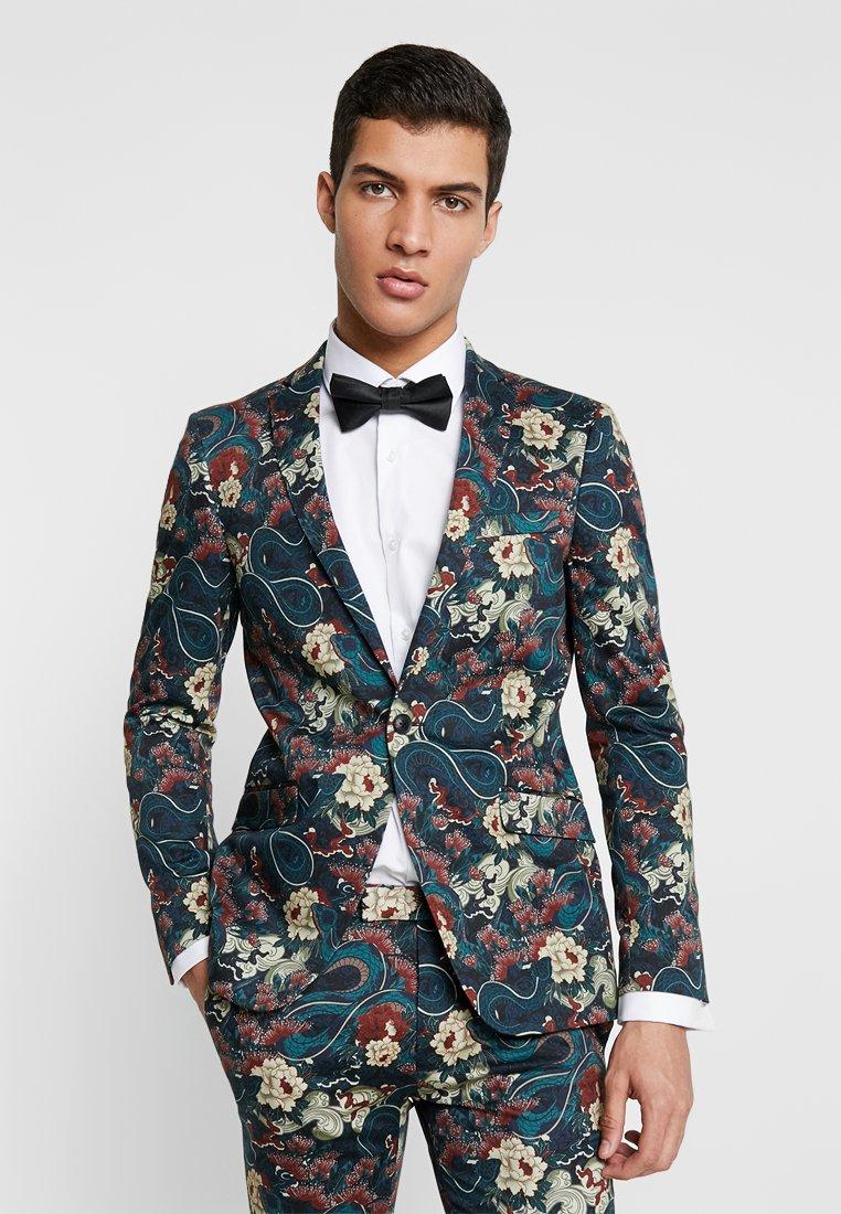 Topman - JAPANESE - Suit jacket - black