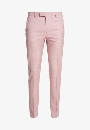 PEACH SKIN MAKO - Oblekové kalhoty - pink