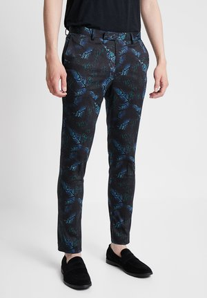 SNAKE - Pantalon de costume - blue