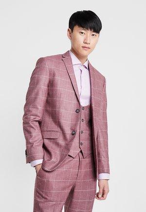 CARMEL WINDOWPANE - Veste de costume - pink