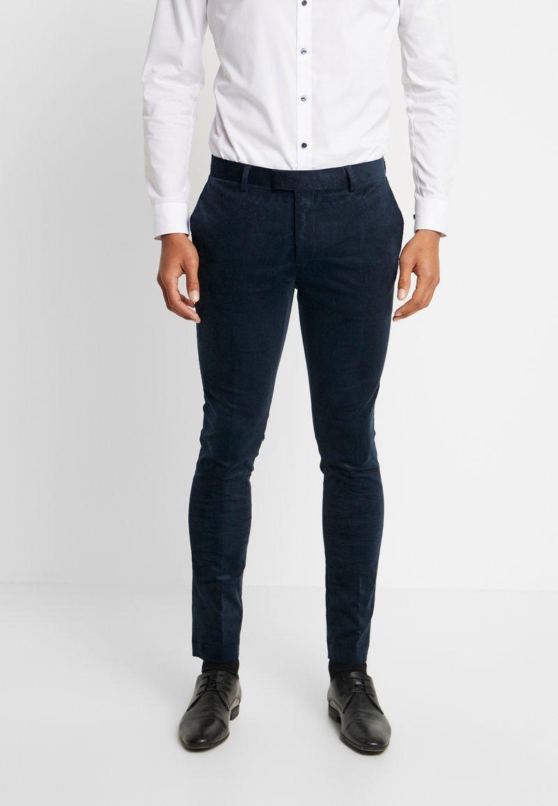 Topman - ALISTAR - Suit trousers - navy