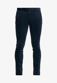 Topman - ALISTAR - Suit trousers - navy - 4