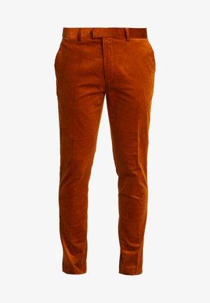 Spodnie materiałowe - caramel
