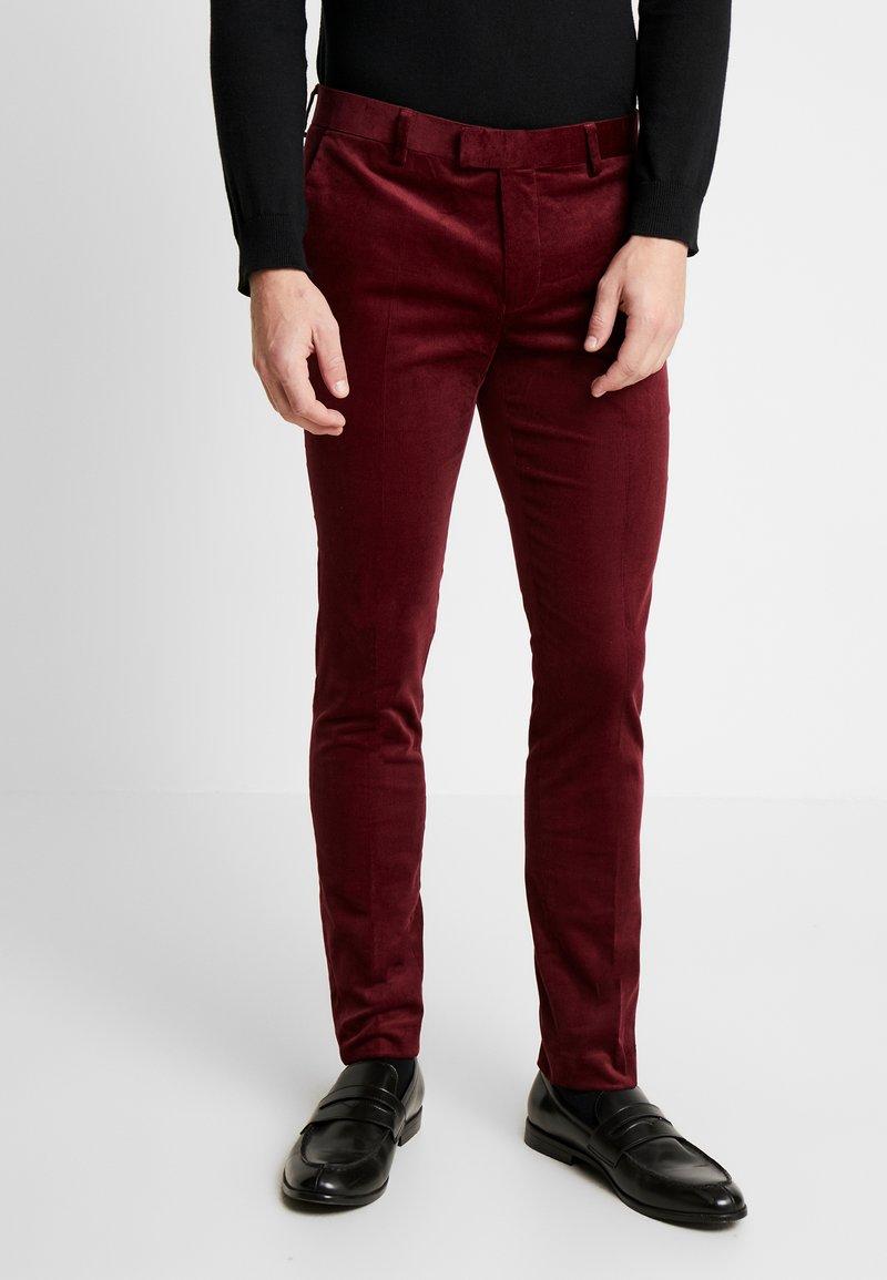 Topman - Kalhoty - red
