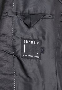 Topman - NIGHT SEQUIN EVENING JACKET - Veste de costume - black - 3