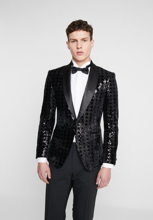 NIGHT SEQUIN EVENING JACKET - Veste de costume - black