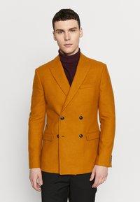 Topman - Blazer jacket - camel - 0