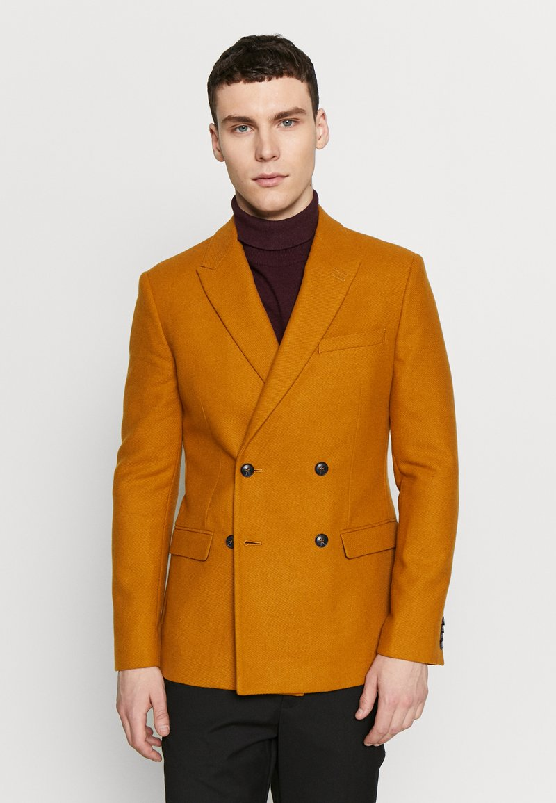 Topman - Blazer jacket - camel