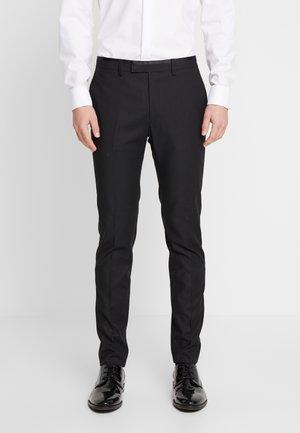 COREY - Oblekové kalhoty - black