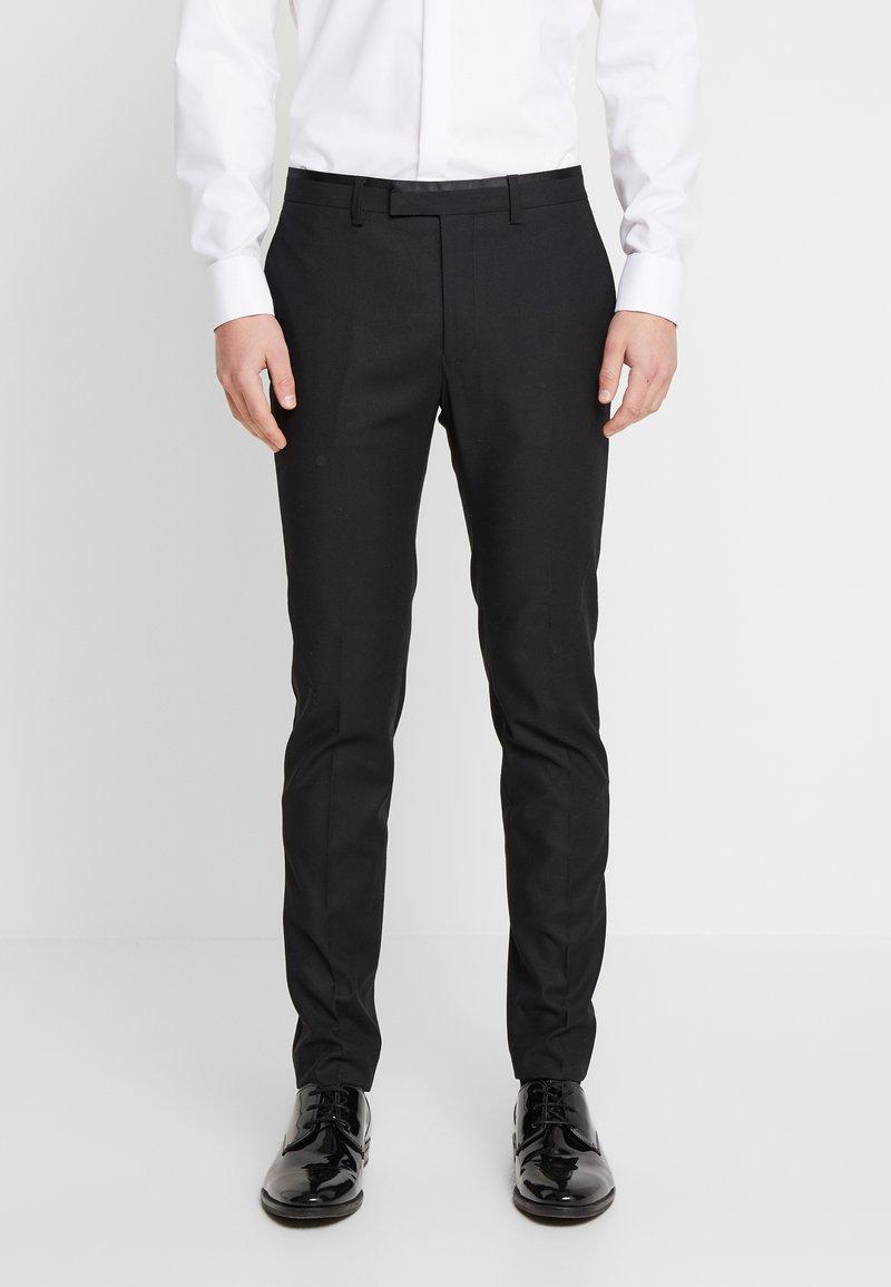 Topman - COREY - Pantalon de costume - black