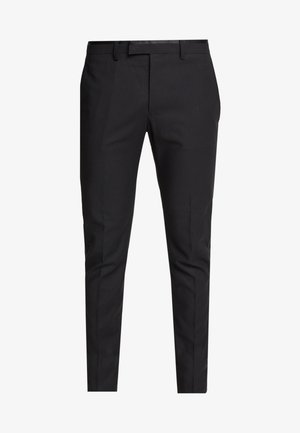 COREY - Suit trousers - black