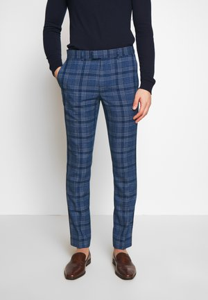 JAMES - Suit trousers - blue