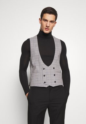 LUTHER - Suit waistcoat - grey