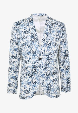 FLORAL - Suit jacket - blue