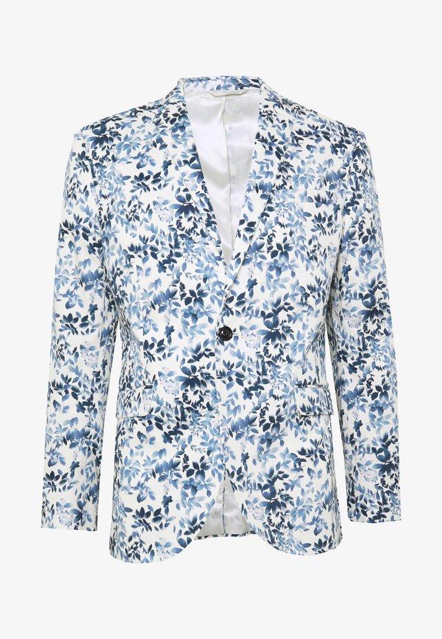 FLORAL - Giacca elegante - blue