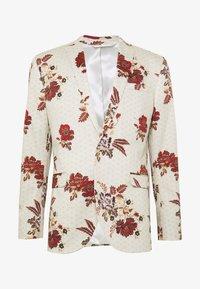 Topman - EIDELIC JACKET - Suit jacket - stone - 0