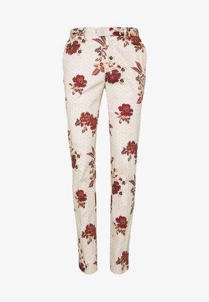 PARADISE BIRD TROUSER - Suit trousers - stone