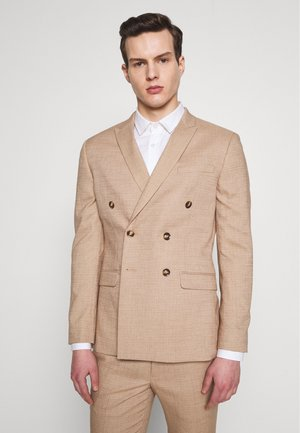 DAX DENZEL - Suit jacket - stone