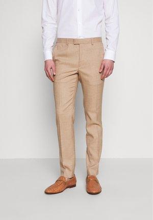 DAX DENZEL - Pantaloni eleganti - stone
