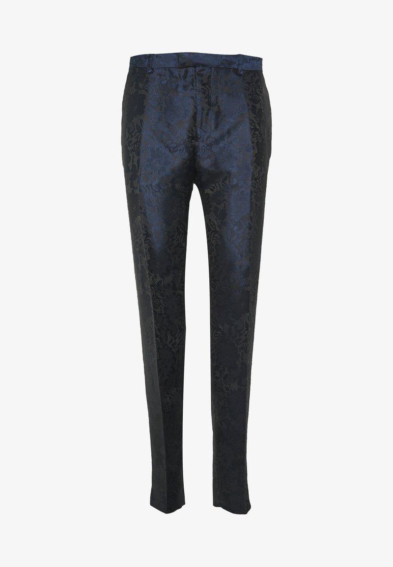 Topman - PARIS  - Trousers - dark blue