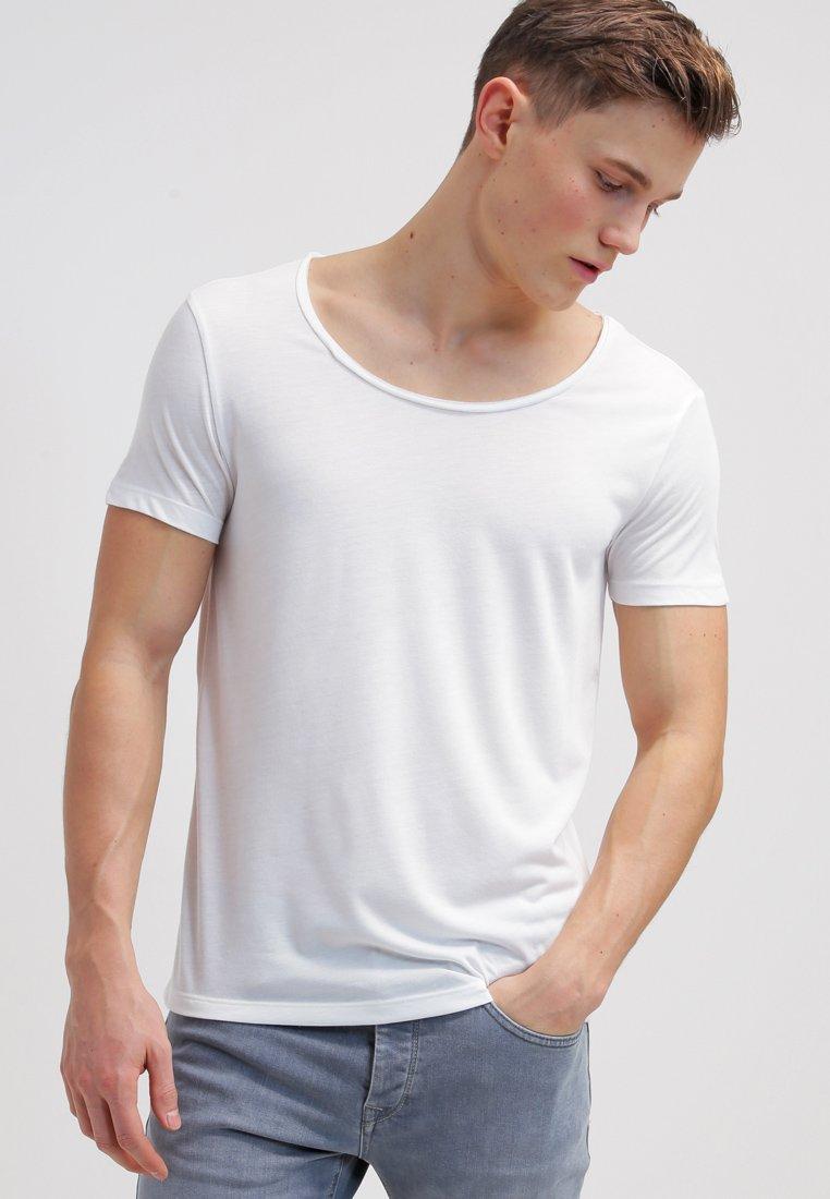 Topman - VNICE SLIM FIT - T-Shirt basic - white