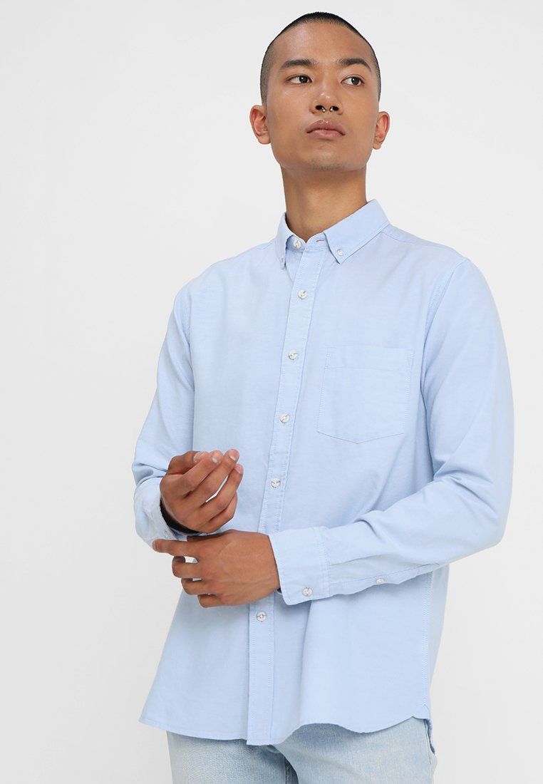 Topman - OXFORD - Camisa - blue