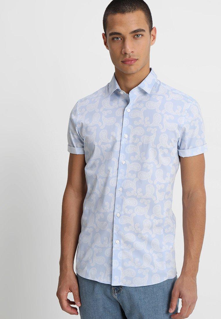 Topman - PAISLEY WEDDING - Camisa - blue