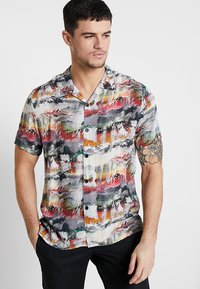 Topman - RICH TEXTURE - Camicia - multi-coloured - 0
