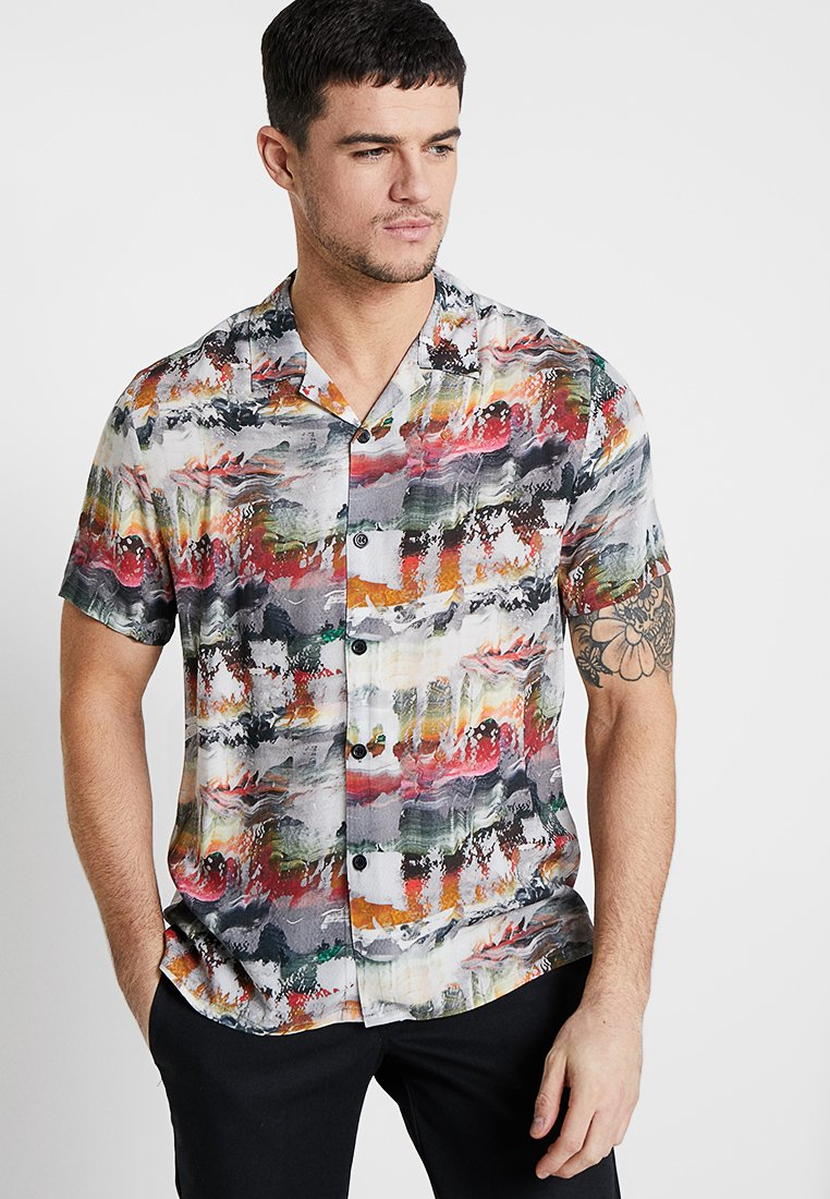 Topman - RICH TEXTURE - Camicia - multi-coloured