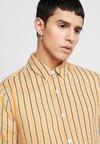 Topman - PANEL STRIPE - Overhemd - yellow