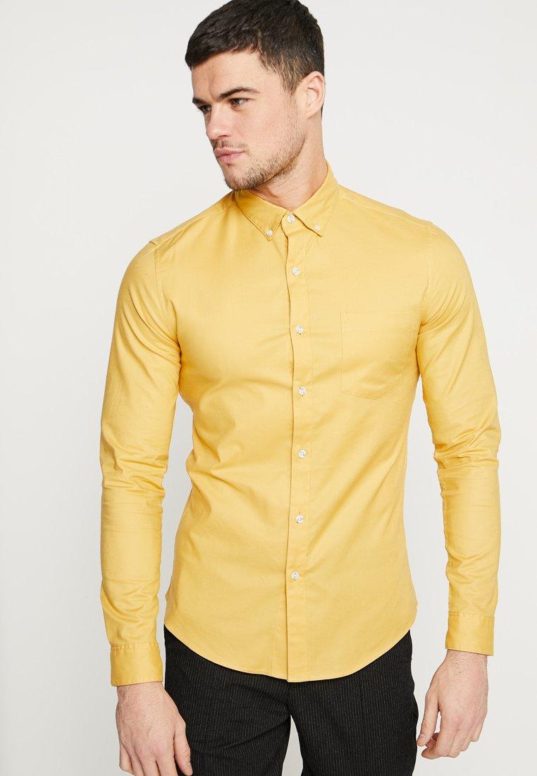 Topman - OXFORD - Hemd - mustard