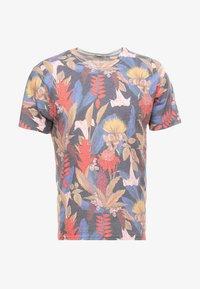 Topman - DETAIL FLOWER  - Print T-shirt - multi-coloured - 3