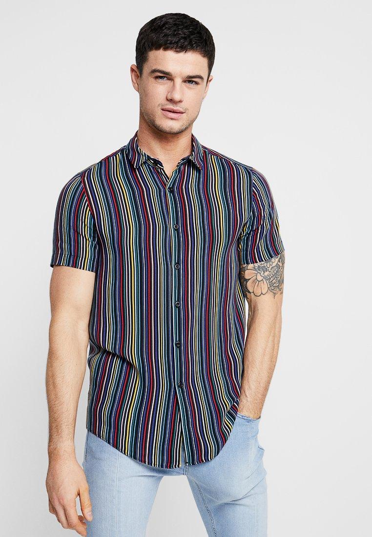 Topman - MULTI STRIPE NORSON - Camisa - multi-coloured